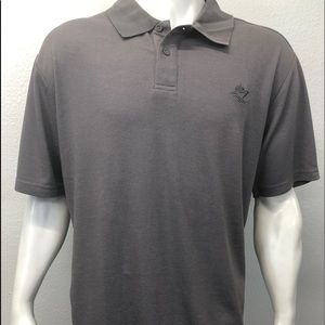 Official Disney Cruise Line Polo Shirt Gray XXL